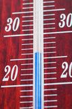 De thermometer van het kwik Stock Foto
