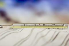 De thermometer van het kwik royalty-vrije stock foto