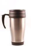 De thermosflessenmok van de koffie Stock Fotografie