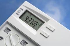 De Thermostaat van de hemel 85 Graden koelt V2 stock foto's