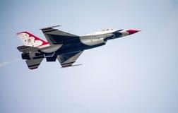 De Thunderbirdslucht toont Stock Afbeelding