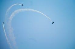 De Thunderbirdslucht toont Royalty-vrije Stock Fotografie
