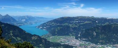 De Thunersee in der Schweiz Lizenzfreie Stockfotos
