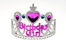 De tiara van Bitrthday Stock Afbeelding