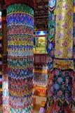 De Tibetaanse zaal van tempelscripture stock afbeelding