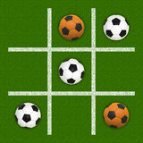De tic-Tac-Teen van het voetbal Stock Afbeelding