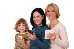 Generatie drie Royalty-vrije Stock Afbeelding