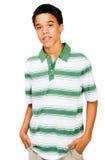 De tiener met dient Zakken in Royalty-vrije Stock Afbeelding