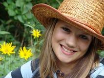 De tiener van de zomer royalty-vrije stock afbeelding
