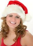 De Tiener van Kerstmis royalty-vrije stock fotografie