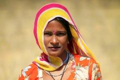 De tiener van Rajasthan royalty-vrije stock foto's