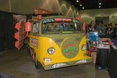 De tienerbestelwagen van Mutantninja Turtle Stock Fotografie