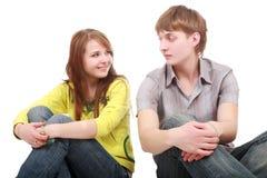 De tienerjaren van de liefde royalty-vrije stock afbeeldingen