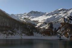 De Tignes skitoevlucht Royalty-vrije Stock Afbeeldingen
