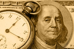 De tijd is Geld Stock Foto's