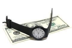 De tijd is geld Stock Fotografie