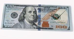 De tijd is Geld, stock footage