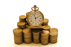 De tijd is geld. Royalty-vrije Stock Foto's
