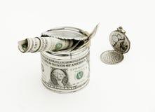De tijd is geld. Royalty-vrije Stock Afbeelding
