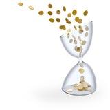 De tijd is geld royalty-vrije illustratie