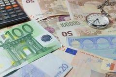 De tijd is geld Royalty-vrije Stock Afbeelding