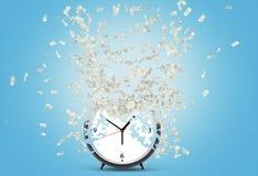 De tijd is geld Stock Afbeelding