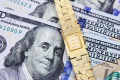 De tijd is geld Royalty-vrije Stock Afbeeldingen