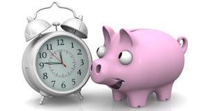 De tijd is geld Pen, oogglazen en grafieken stock videobeelden