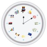 De tijd is geld ---vector slechts, geen bitmap Royalty-vrije Stock Afbeeldingen