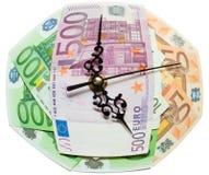 De tijd is geldconcept Royalty-vrije Stock Foto's