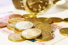 De tijd is geldconcept Royalty-vrije Stock Fotografie