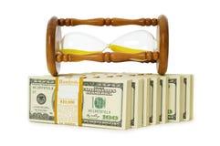 De tijd is geldconcept Stock Foto