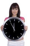 De tijd loopt Stock Foto's