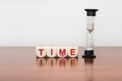 De tijd loopt uit Stock Foto