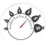 De tijd is money4 Royalty-vrije Stock Foto