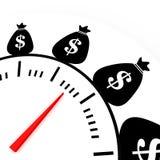 De tijd is money2 Stock Afbeeldingen