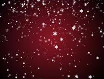 De tijd sneeuwvlok van achtergrondanimatiekerstmis stock video