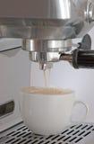 De tijd van cappuccino's stock foto's