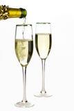 De tijd van Champagne royalty-vrije stock foto