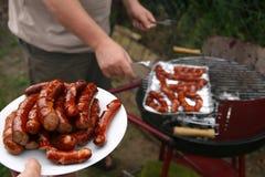 De tijd van de barbecue? Royalty-vrije Stock Afbeeldingen