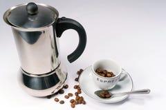 De Tijd van de espresso! Stock Afbeelding