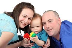 De Tijd van de familie Stock Foto's