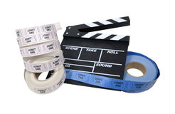 De Tijd van de film Stock Foto's