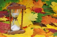 De tijd van de herfst Stock Foto's