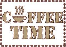 De Tijd van de koffie. Royalty-vrije Stock Foto