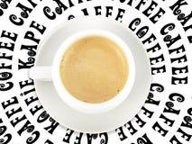 De tijd van de koffie Royalty-vrije Stock Afbeelding