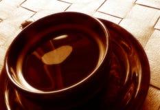 De tijd van de koffie stock afbeelding