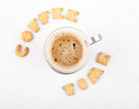 De tijd van de koffie Stock Afbeeldingen