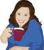 De Tijd van de koffie stock illustratie
