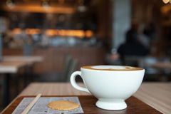 De tijd van de koffie Stock Foto